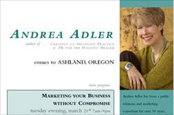 Ashland Oregon Seminar