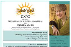 Holistic PR & Marketing Workshop Schedule - Holistic PR & Marketing