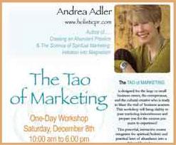 The Tao of Marketing Workshop - Andrea Adler