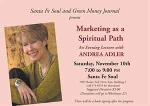 Marketing as a Spiritual Path Talk